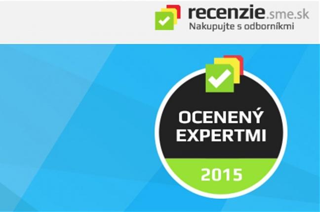 Recenzie.sme.sk ocenili 39 výrobkov certifikátom Ocenený expertmi