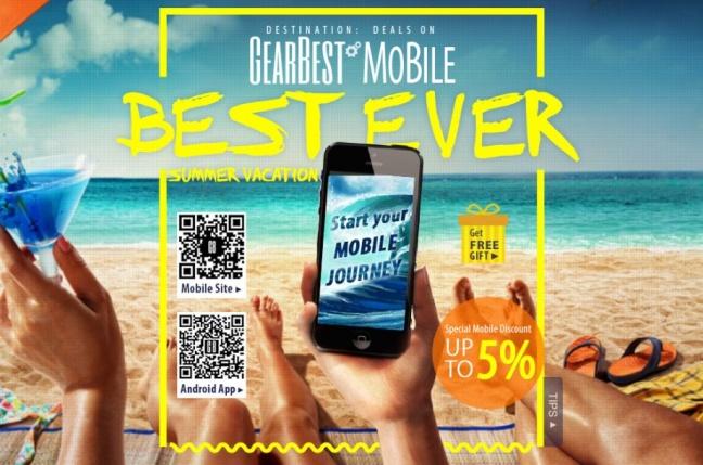GearBest.com odštartoval letný výpredaj