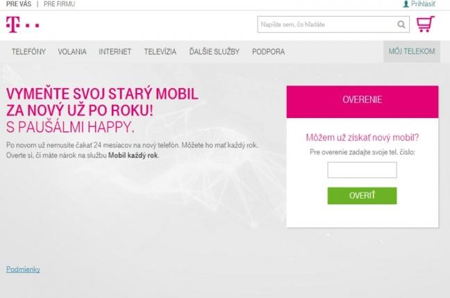 Telekom umožní svojim zákazníkom vymeniť si telefón už po roku