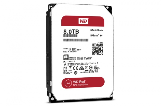 WD zvyšuje kapacitu svojich diskov na 8 TB