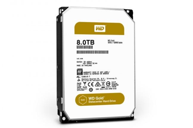 WD rozširuje ponuku diskov o rad Gold pre dátové centrá