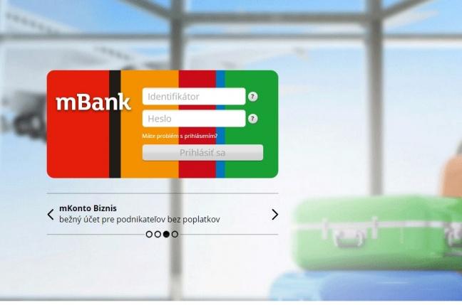 Vyskúšali sme služby internetovej banky mBank