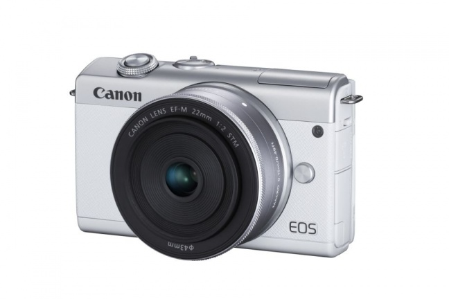 Canon predstavil bezzrkadlovku EOS M200