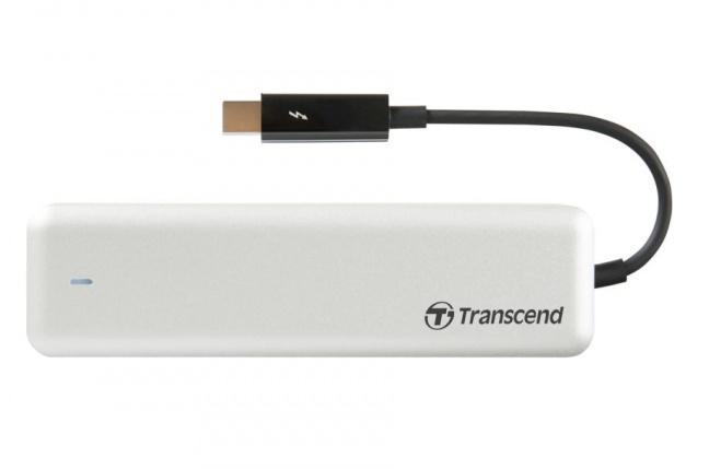 Transcend JetDrive 825 je prenosné SSD pre Mac
