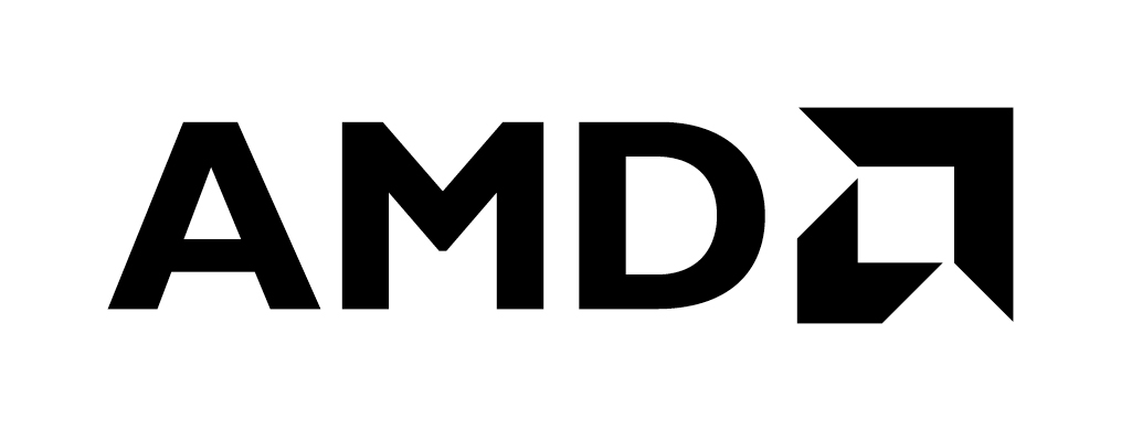 amd logo black