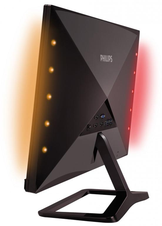 """7d27ac1c0 Philips pridal monitoru nielen atraktívny dizajn, ale aj slušný  technologický základ. Použitý 27"""" panel je typu AH-IPS a ponúka FullHD  rozlíšenie a široké ..."""