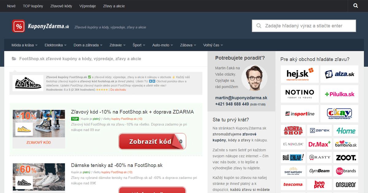a3f79a61f Zľavové kupóny: Ako pri nákupoch cez internet ušetríte viac - PCNews.sk
