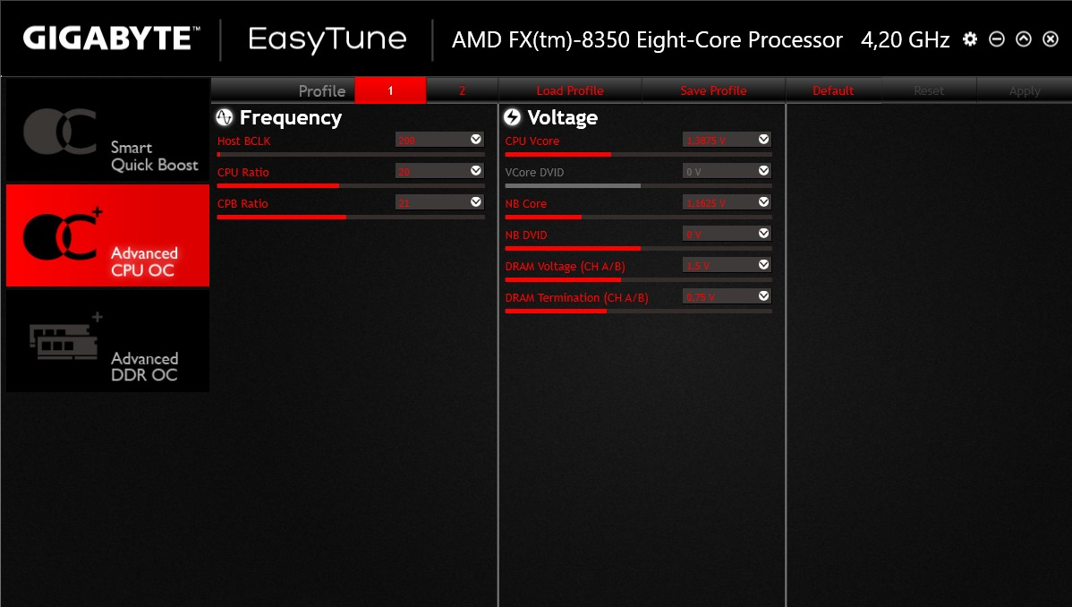 gigabyte 990FX Gaming screen easytune2