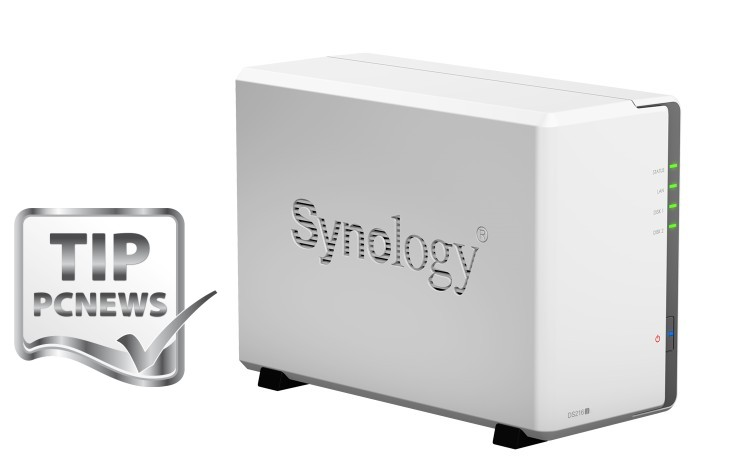 synology DS216j end