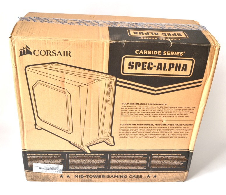 corsair spec alpha 01 box