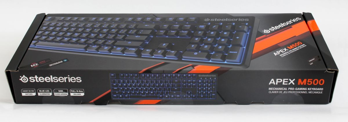steelseries apex m500 box