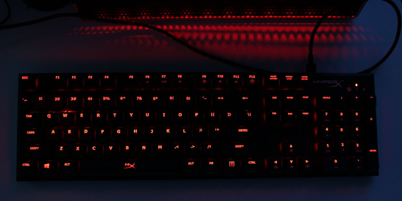 hyperx alloy fps usb backlit full