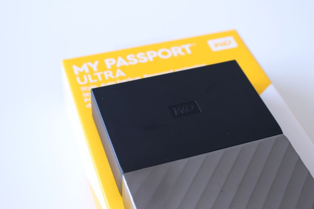 wd my passport ultra end