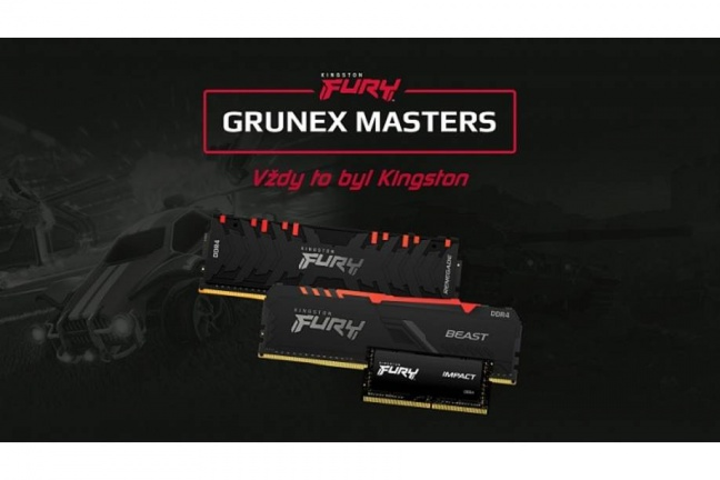 Štartuje Kingston Fury Grunex Masters