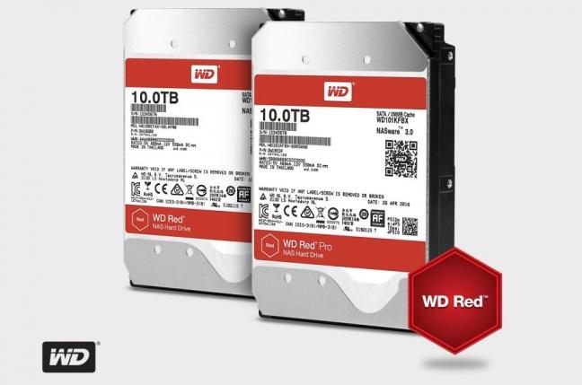 Western Digital predstavil NAS disky s kapacitou 10 TB