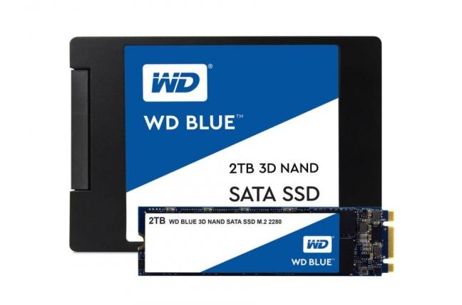 WD predstavuje SSD disk s 3D NAND so 64 vrstvami
