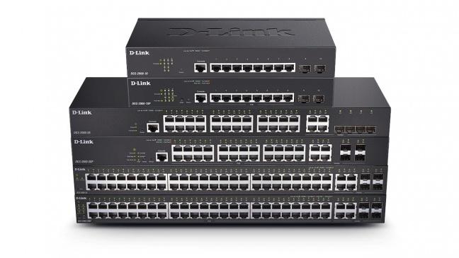 D-Link ohlásil cenovo efektívne plne manažovateľné gigabitové switche