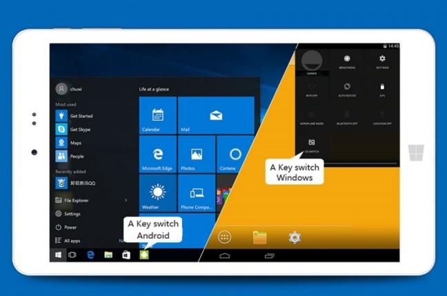 Tablety Chuwi ponúkajú solídny hardvér a dualboot s Remix OS