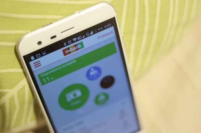 Testovali sme mobilnú aplikáciu internetovej banky mBank