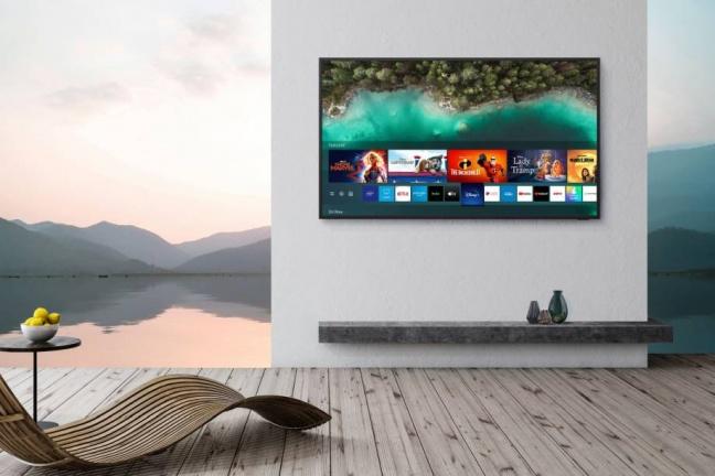 Samsung Terrace je ideálnym televízorom na letnú terasu