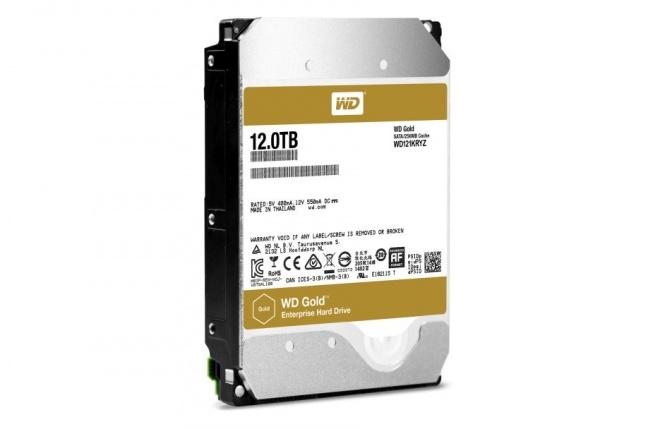 Western Digital začal s dodávkou 12 TB diskov WD Gold