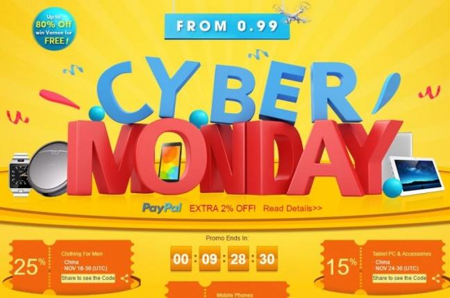 Cyber Monday nadväzuje na víkend plný výpredajov