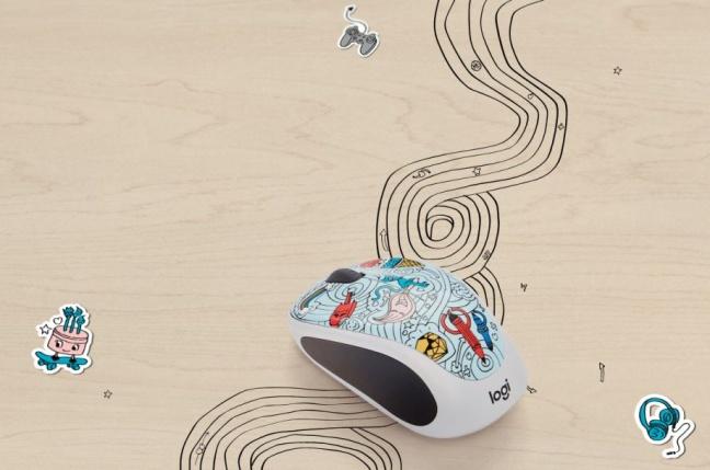 Logitech 2017 Doodle Collection je kolekcia veselých myší