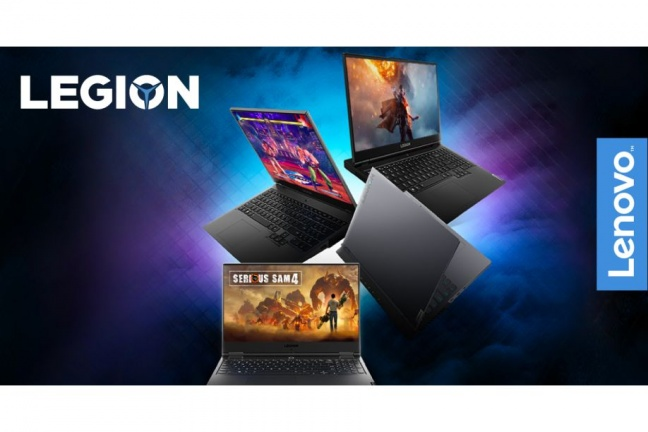 K nákupu herného notebooku od Lenovo získate balíček hier zdarma