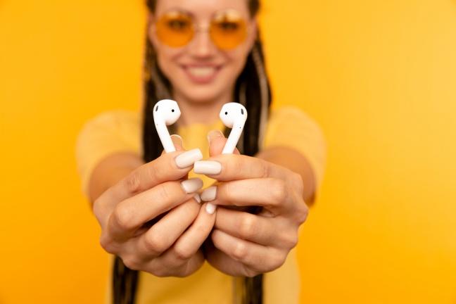 Doprajte si hudbu v najvyššej kvalite s Apple AirPods